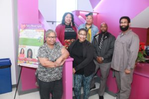 Black Girls Cry Booksigning Team